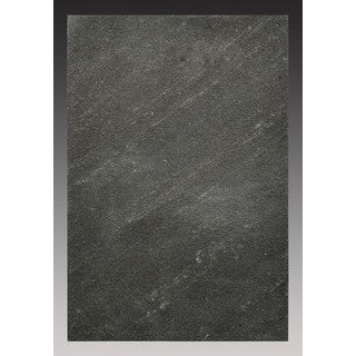 Peel-and-Stick Natural Stone 6-foot x 9-inch Backsplash Tiles in Black Line (4.5 square feet)