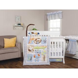 Trend Lab Jungle Fun 6-piece Crib Bedding Set