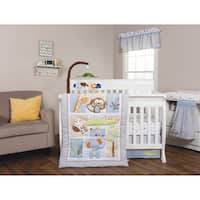 Trend Lab Jungle Fun 6-piece Crib Bedding Set