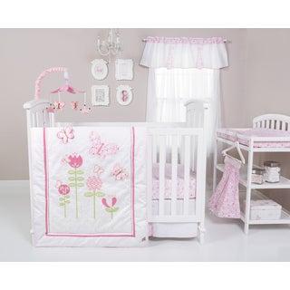 Trend Lab Floral Fun 6-piece Crib Bedding Set