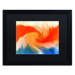 Amy Vangsgard 'Storm At Sea 2' Matted Framed Art