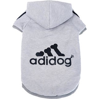 Blue/Black/Grey Sporty Dog Hoodie