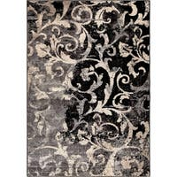 "Carolina Weavers American Tradition Collection Secluded Scroll Multi Area Rug - 7'10"" x 10'10"""