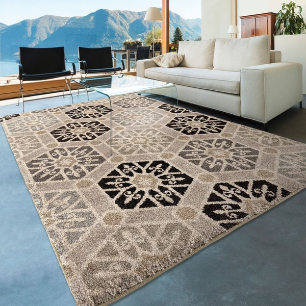 Carolina Weavers Medallion Pandu Multi Area Rug 5 3 X 7 6