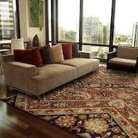 Copper Grove Khanafah Paisely Willow Multi Area Rug - 5'3 x 7'6