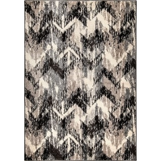 Carolina Weavers American Tradition Collection Arcadia Gray Area Rug (7'10 x 10'10)
