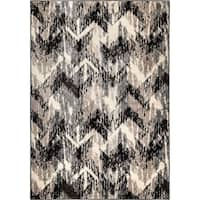 "Carolina Weavers American Tradition Collection Arcadia Gray Area Rug - 7'10"" x 10'10"""