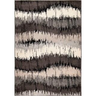 Carolina Weavers Static Stripes Multi Area Rug (7'10 x 10'10)