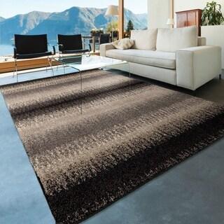 Carolina Weavers American Tradition Collection Hampton Stripes Multi Area Rug (7'10 x 10'10)