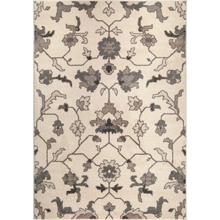 Carolina Weavers American Tradition Collection Plymouth Ivory Area Rug (7'10 x 10'10)