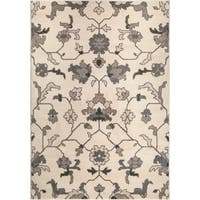 "Carolina Weavers American Tradition Collection Plymouth Ivory Area Rug - 7'10"" x 10'10"""