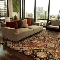 Copper Grove Khanafah Paisely Willow Multi Area Rug - 7'10 x 10'10