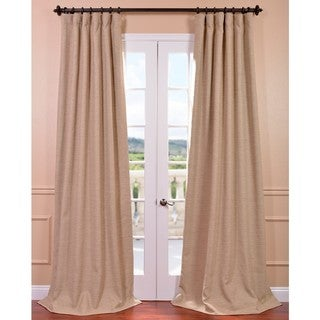 EFF Ginger Bellino Blackout Curtain Panel Size 50W x 84L(As Is Item)