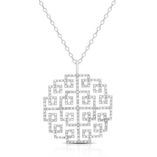 Samantha Stone Sterling Silver Cubic Zirconia Necklace