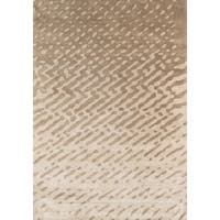 Hand-tufted Modern Abstract Viscose Silk/ Wool Rug (7' 6' x 9' 6') - 8 x 10