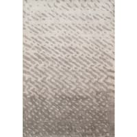 Hand-tufted Modern Abstract Viscose Silk/ Wool Rug (8' 3' x 11' 0') - 8 x 11