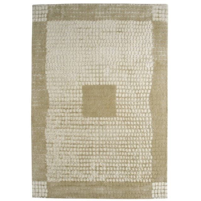 "Indian Marrakesh Beige Rug - 4'6"" x 6'6"""