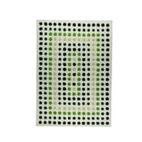 M.A.Trading Indian Hand-tufted Dublin Green Rug - 3' x 5'4