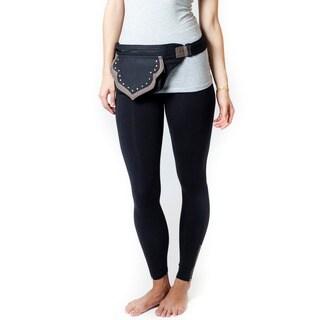 Handmade The Eco Traveler Cotton Hip Bag Belt (India)