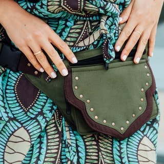 The Eco Traveler Cotton Hip Bag Belt (India)
