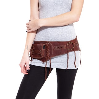 The Gypsy Duo Leather Duo Pack Hip Bag Belt (India)