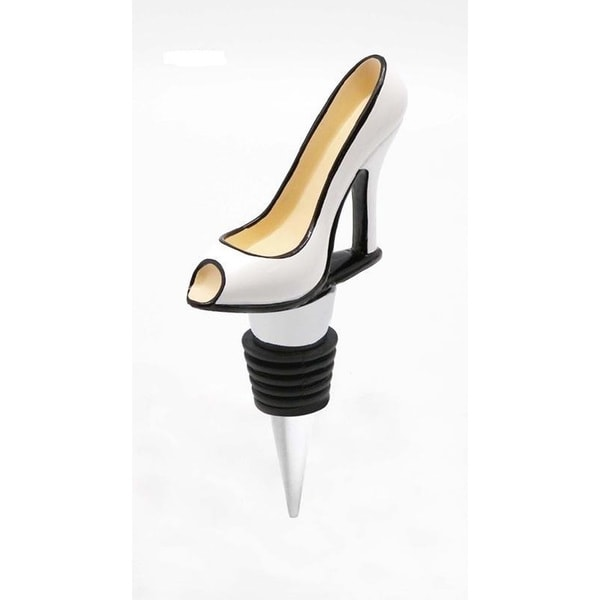 Heim Concept White Shoe Bottle Stopper