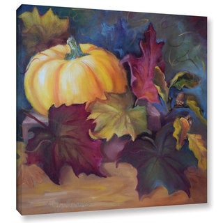 Cheri Wollenberg's 'Autumn Still Life I' Gallery Wrapped Canvas