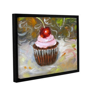 Cheri Wollenberg's 'Cupcake Festival I' Gallery Wrapped Floater-framed Canvas