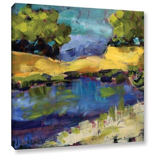 Pamela J. Wingard's 'Autumn Waters' Gallery Wrapped Canvas