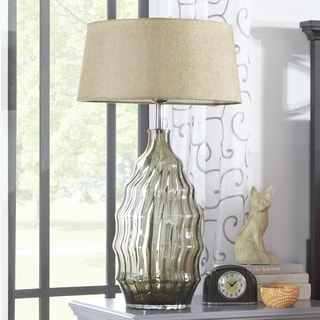 MID-CENTURY LIVING Tidal Glass Table Lamp