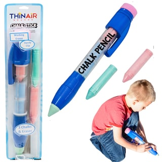 Thin Air Giant Sidewalk Chalk Pencil