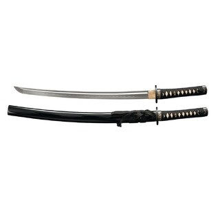 Cold Steel Gold Lion Wakishashi Sword, 21in Blade