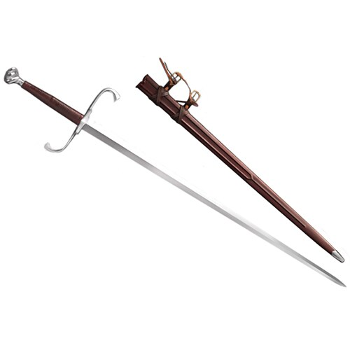 Cold Steel German Long Sword, 46in Overall, 35.5-inch Blade