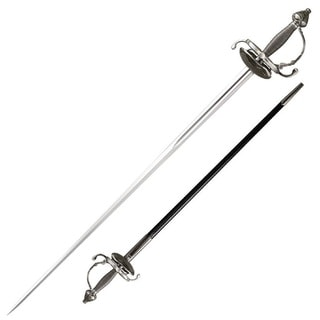 Cold Steel Cavalier Rapier Sword, 36in Blade