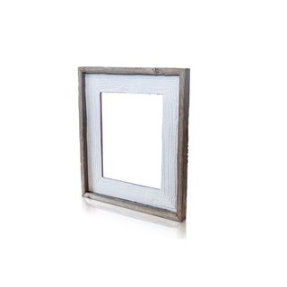 The Natural Crackled Lavender Fields Recycled/ Reclaimed 4x6-inch Frame