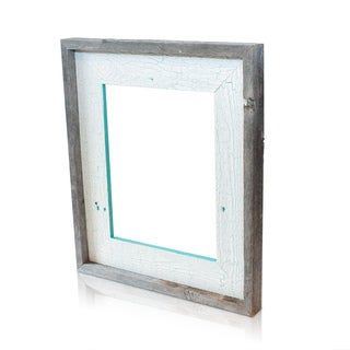 The Natural Crackled Cozumel Recycled/ Reclaimed 4x6-inch Frame