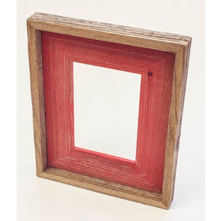 The Natural Shabby Chic Red Reclaimed 4x6-inch Frame