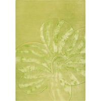 M.A.Trading Indian Hand-tufted Jasmine Sage Rug (8'3 x 11'6)
