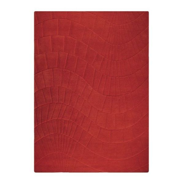 M.A.Trading Indian Hand-tufted Terraza Scarlet Rug (8'3 x 11'6)