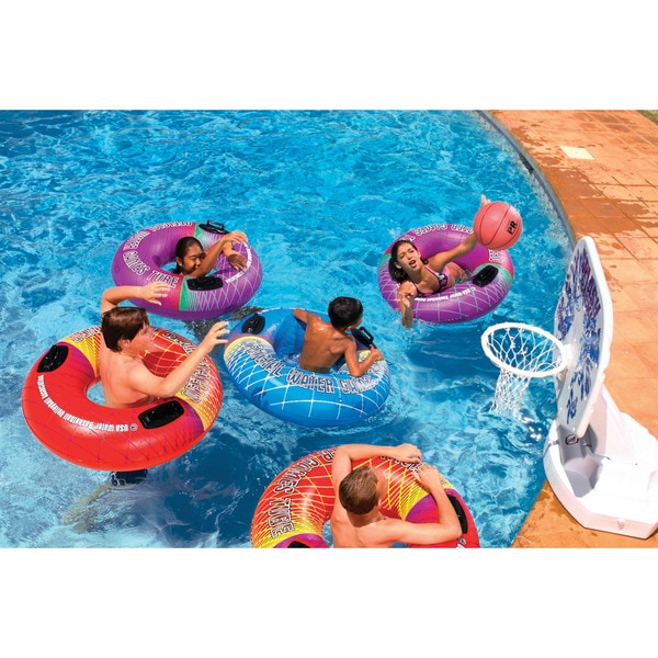 Poolmaster Water Games Tube 39-inch Dia. 2 pack Yellow