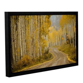 Amber Berninger's 'Telluride, CO' Gallery Wrapped Floater-framed Canvas