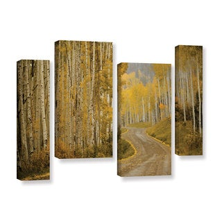 Amber Berninger's 'Telluride, CO, 4 Piece Gallery Wrapped Canvas Staggered Set