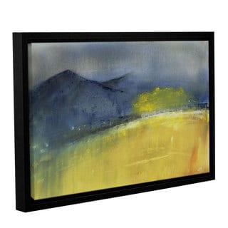 Amber Berninger's 'Telluride Fall Rain' Gallery Wrapped Floater-framed Canvas