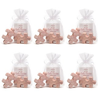 SoapMe with Nature Puzzle Piece Bath Fizzies (6 Bags of 2)