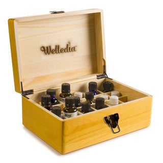 AromaStorage Essential Oil Large Wooden Box