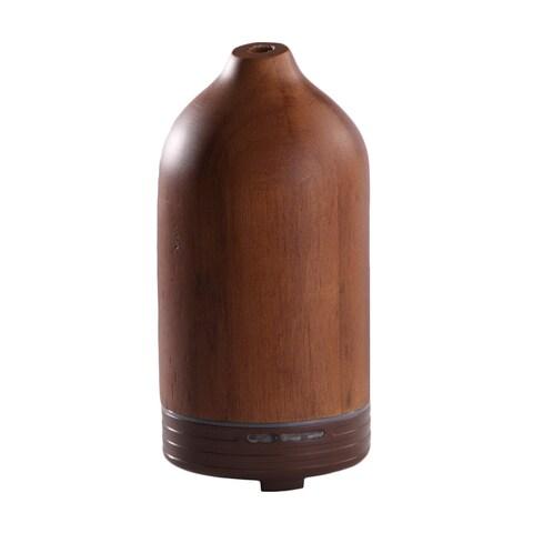 Wellspring Handmade Wood Ultrasonic Essential Oil Diffuser