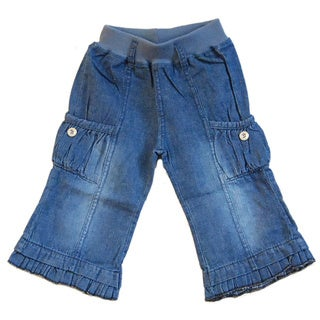 Augusta Baby Toddler's Denim Bell Bottom Pants