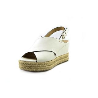 Via Spiga Women's 'Triana' Leather White Dress Shoes
