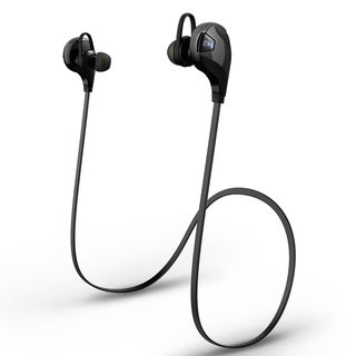 Bluetooth V4.0 Black Headphone Headset with Microphone