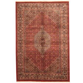 Handmade One-of-a-Kind Bidjar Wool Rug (India) - 6'7 x 9'10